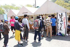第11回宍粟市さつきマラソン大会での宍粟市商工会青年部の活動報告です
