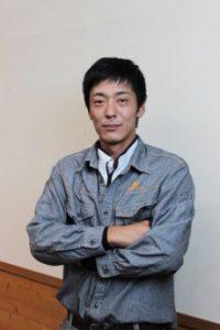 宍粟市商工会青年部員、山口正寛さんの会社「山隆建設」の紹介です