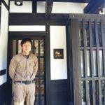 宍粟市商工会青年部員、高石覚さんの事業所「㈱元工務店(はじめこうむてん)」の紹介です