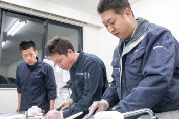 宍粟市商工会青年部 平成29年度海の男の料理教室
