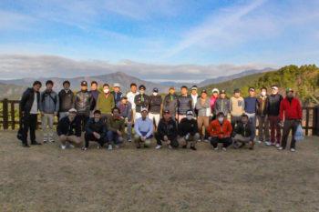 宍粟市商工会青年部平成29年度親睦ゴルフ大会を千草カントリーで行いました