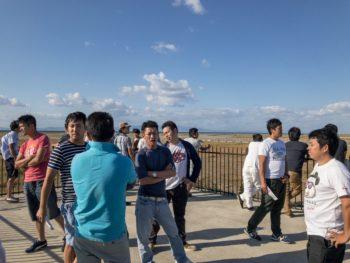 平成29年度県外視察研修旅行 宍粟市商工会青年部 関空の裏側見学