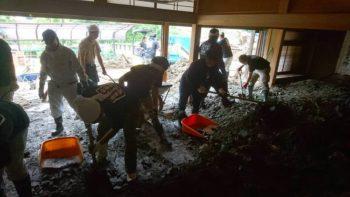 宍粟市商工会青年部 西日本豪雨災害ボランティア
