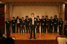 宍粟市商工会青年部のブログ-新年会2
