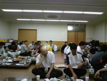 宍粟市商工会青年部のブログ-懇親会風景