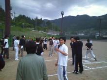 宍粟市商工会青年部のブログ-親睦ソフト3