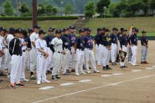 宍粟市商工会青年部のブログ-ソフトボール開会式